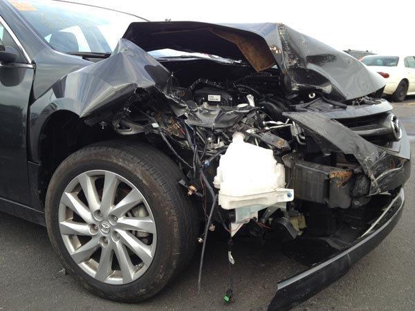 Can I Trade In A Damaged Car That Was Repaird