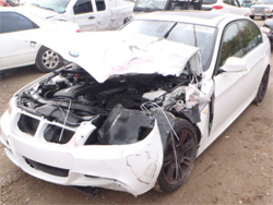 wrecked bmw we buy wrecked cars damagemax